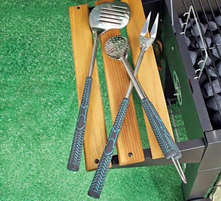 Golf Club Grilling Set