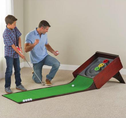 Golf Putting Skee-Ball Arcade Game