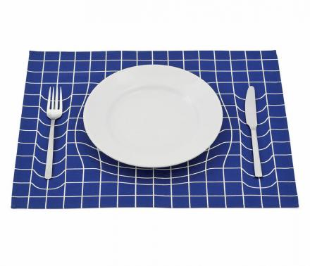 Gravitational Displacement Placemat (Displacemat?)