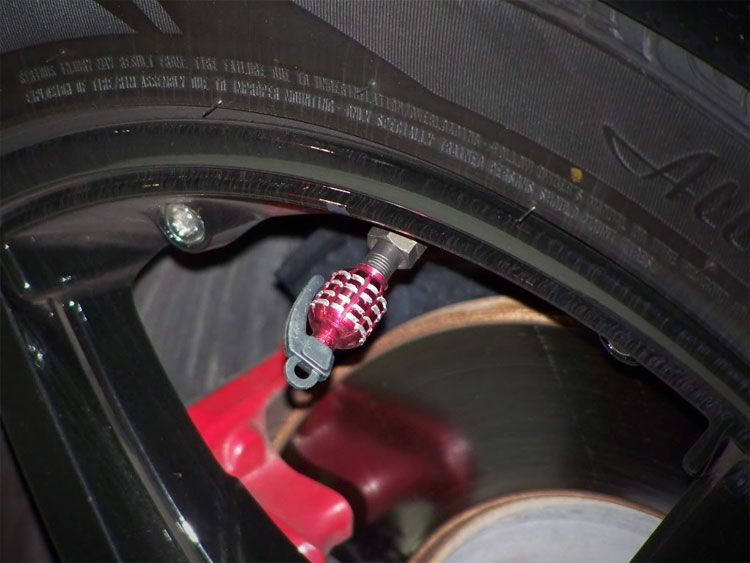 Grenade Shaped Tire Valve Caps