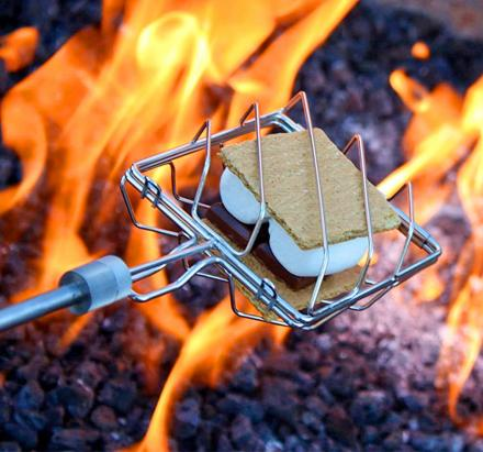 Grubstick Lets You Cook Anything Over a Campfire
