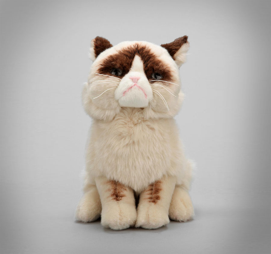 Grumpy Cat Stuffed Animal