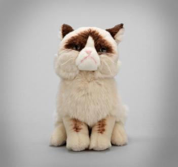 Grumpy Cat Stuffed Animal