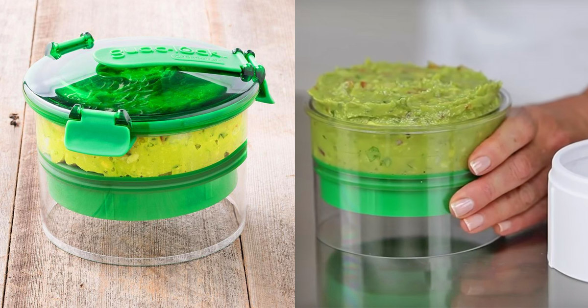 Guac-Lock Keeps Your Guacamole From Turning Brown