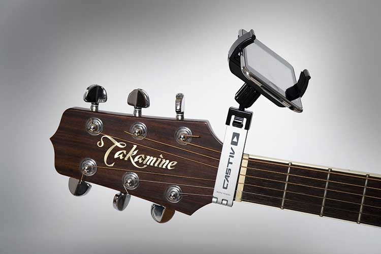 Guitar Sidekick Smartphone Holder