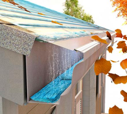 Gutter Guard Micro-Mesh Prevents Debris From Entering Your Gutters