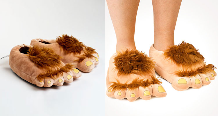 Hobbit Feet Slippers