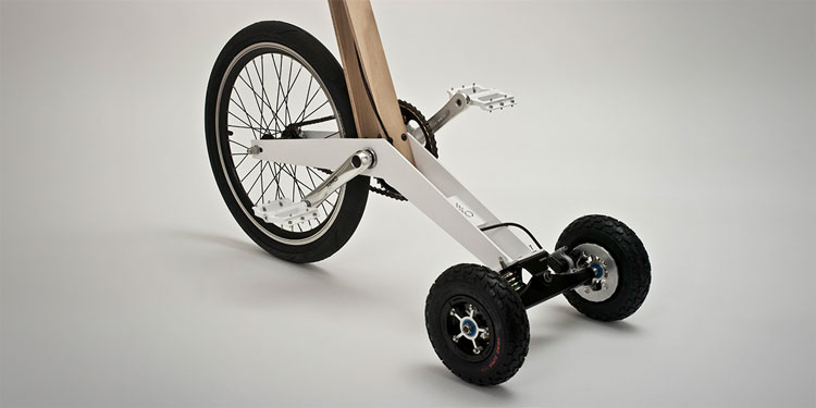 Halfbike Stand Up Tricycle