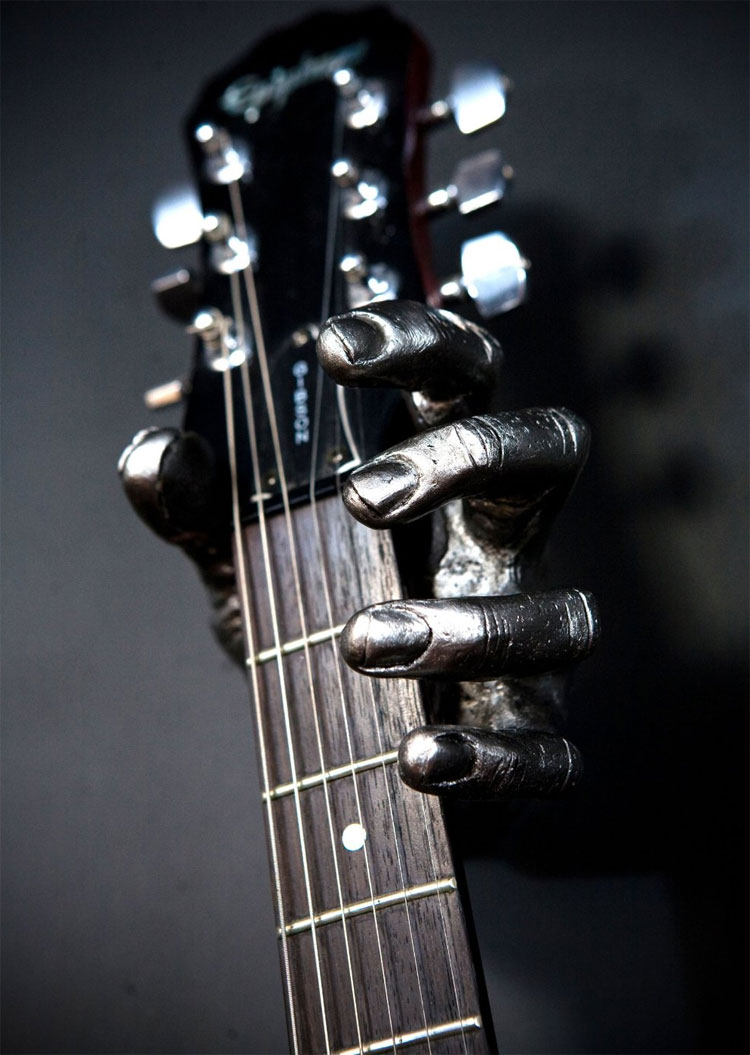 Hand Shaped Guitar Wall Holder Grip