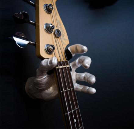 Hand Guitar Wall Holder