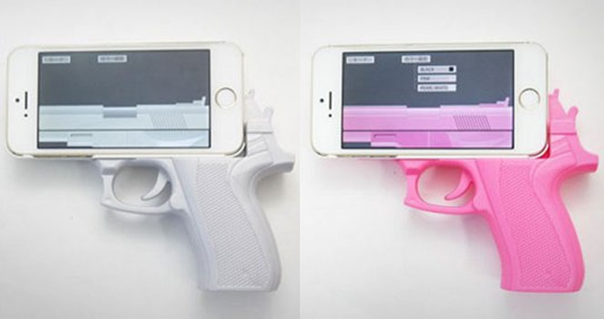 Gun Grip iPhone Case