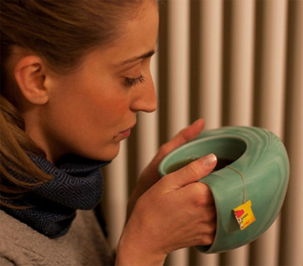 Hand Warming Coffee Mug