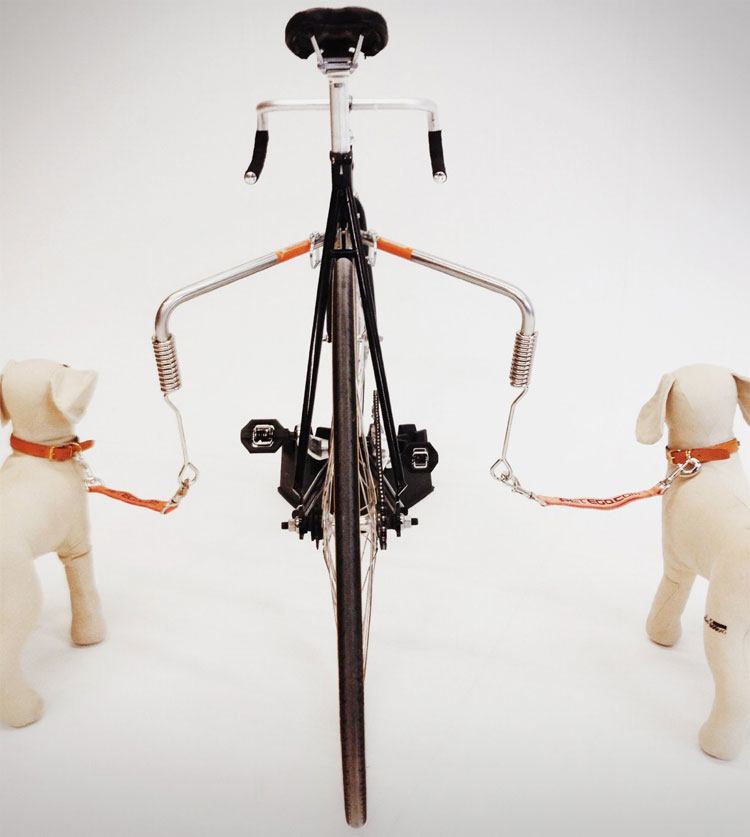 Petego Spring Lead Bicycle Dog Leash