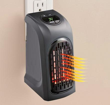 Handy Heater: A Mini Portable Heater That Attaches To Any Outlet