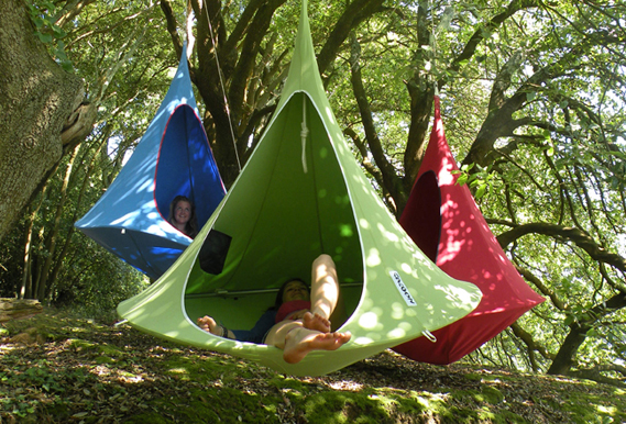 Hanging Cocoon Private Hammock 1