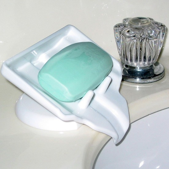 With The Sloaped Design Soap Dish, The Bar Of Soap In Your Shower Will  Never Again Sit In A Pile Of Bacteria Creating A New Strand Of The  Super Flu.