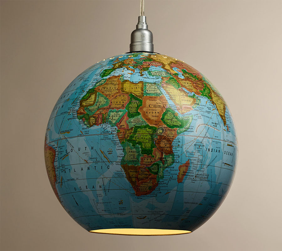how to connect a globe light