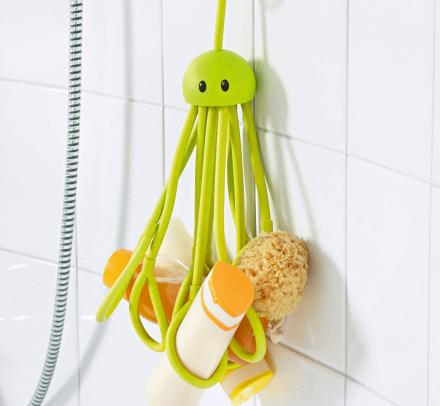 Hanging Octopus Shower Caddy Holds Your Stuff In The Shower