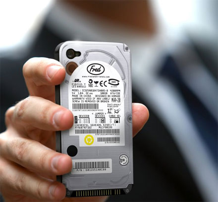 Hard Drive iPhone Case