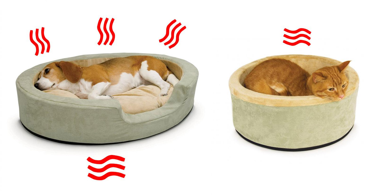 Heated Pet Beds That