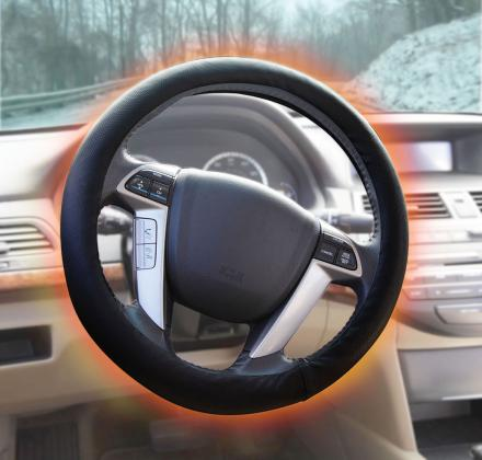 Heated Steering Wheel Cover