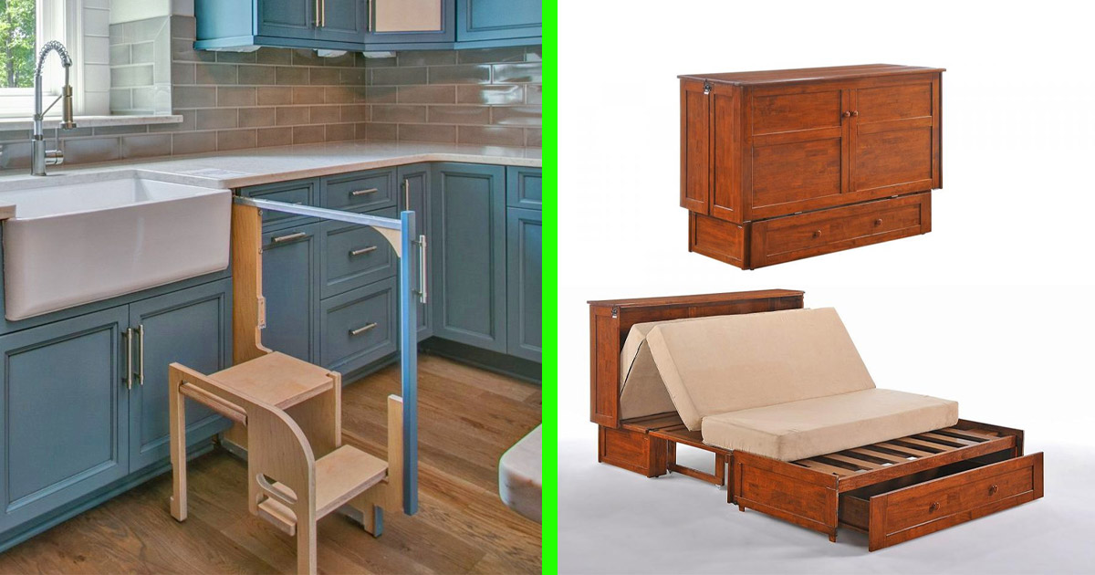 Hidden Furniture and Home Interior Designs To Make Your House More Functional