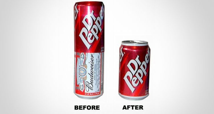 Beer Can Soda Cover
