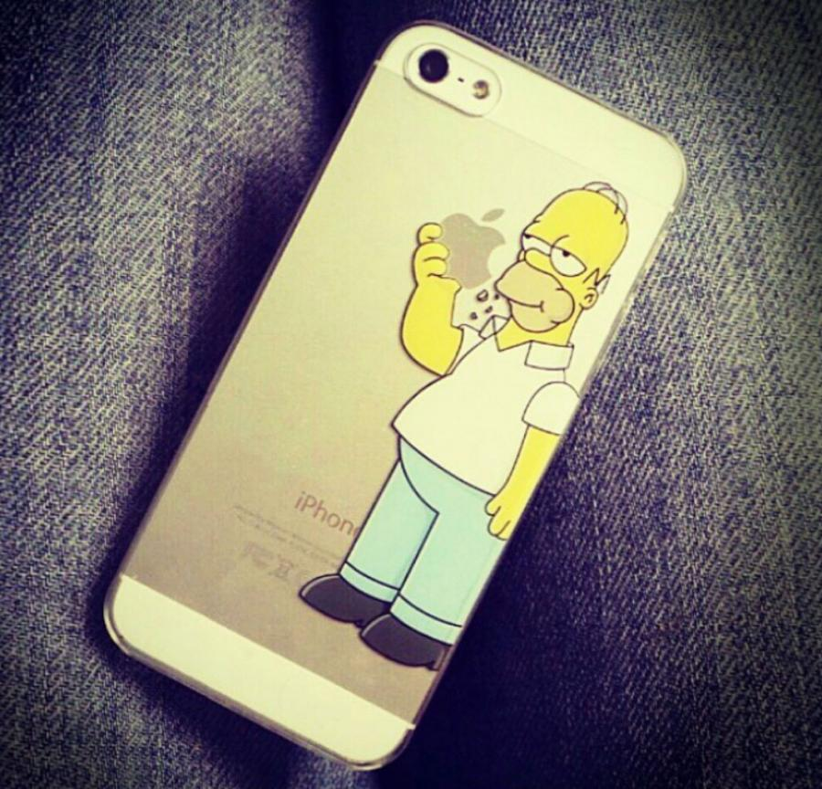 Simpsons Iphone 6 Case Amazon The Homer Simpson Iphone Case