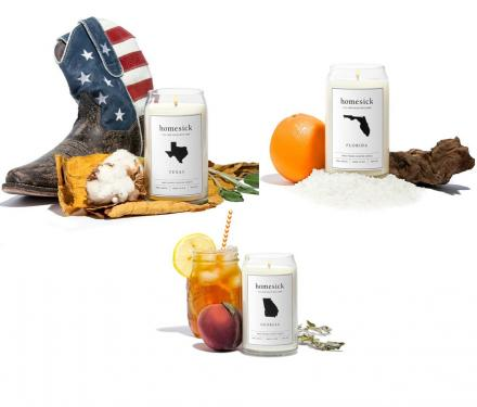 Homesick Candles: Candles That Smell Like Each State