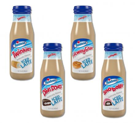 Hostess Has Released New Bottled Iced Lattes That Taste Like Twinkies, Ding Dongs