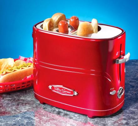 Hot Dog Toaster That Also Toasts Your Buns