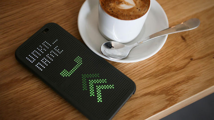 HTC Dot View Interactive Phone Case