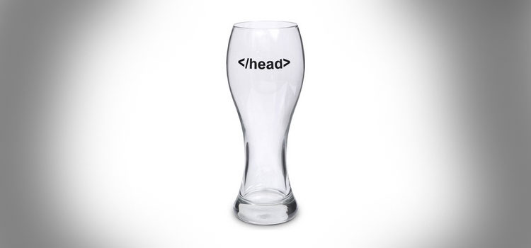 Head Tag HTML Beer Mug