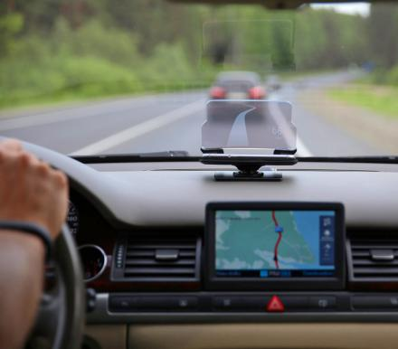 This Genius Device Turns Your Phone into a Heads-Up-Display For Your Car