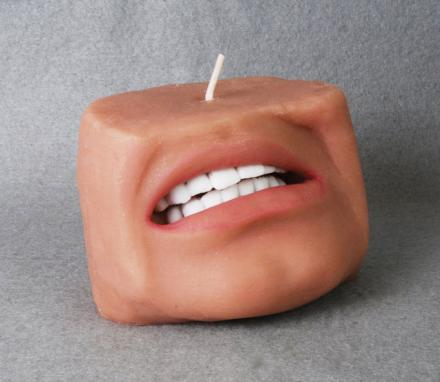 Human Face Candle