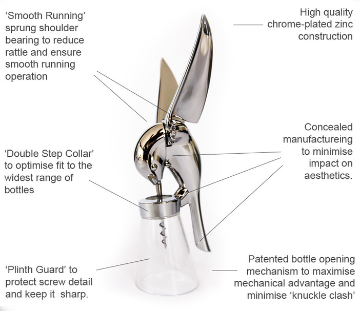 Hummingbird Corkscrew