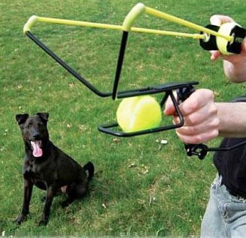 Hyperactive Puppy: Hyper Dog Sling Shot Ball Launcher