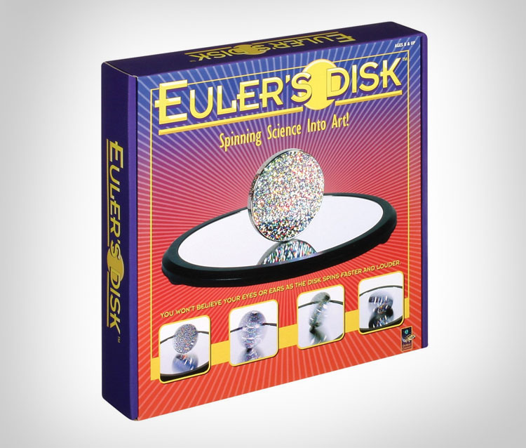 Hypnotic Infinite Spinning Euler's Disk - Science Toy