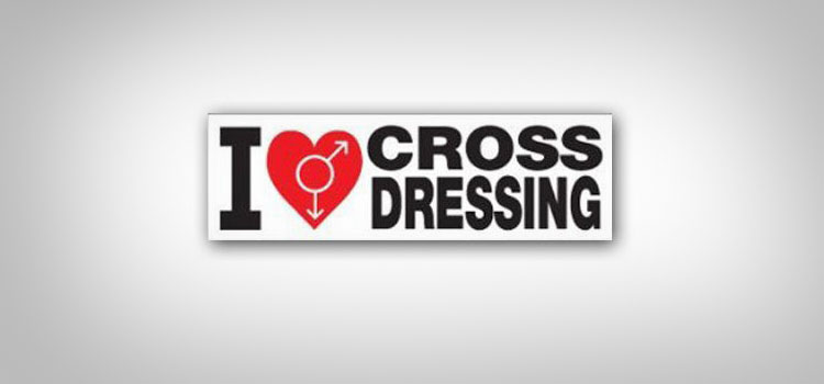 I Love Crossdressing Car Magnet