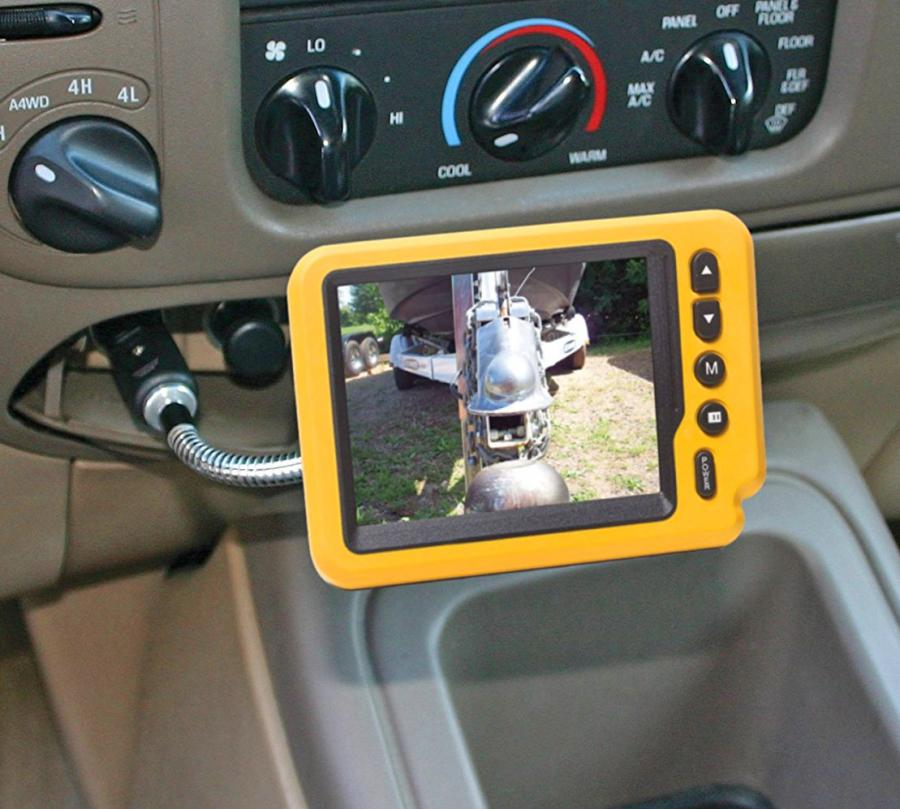 Long Distance Towing >> iBall Wireless Trailer Hitch Backup Camera
