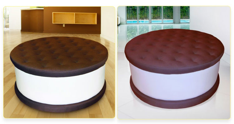 Ice Cream Cookie Bench