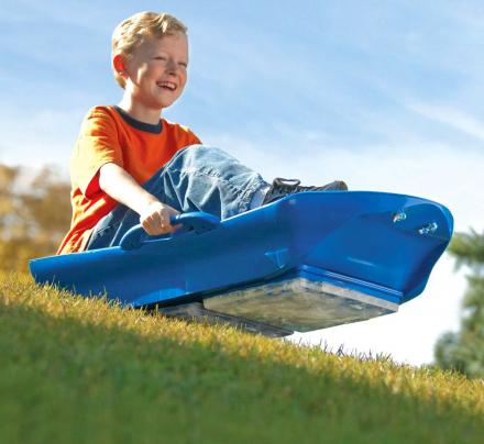 Ice Sled: Uses Blocks Of Ice On The Bottom To Sled On Grass
