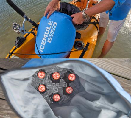 IceMule Cooler: Portable Fabric Cooler You Can Wear Like a Backpack