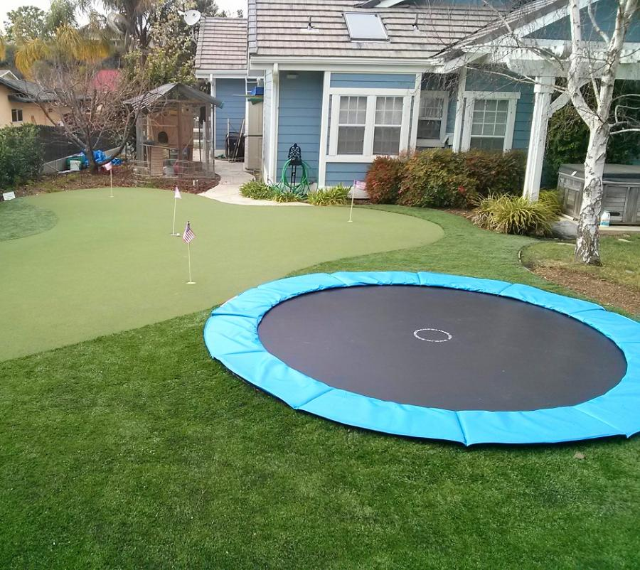 in ground trampoline. In-Ground Trampoline Kit Enlarge Image In Ground R
