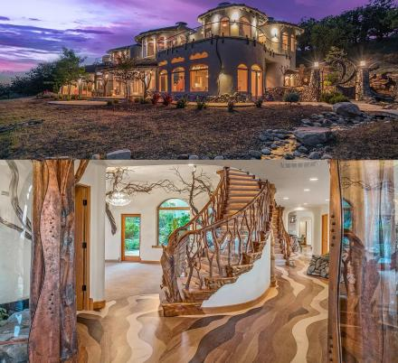 This Incredible Oregon Home Is Filled With Tons Of Custom Handcrafted Wood Carvings