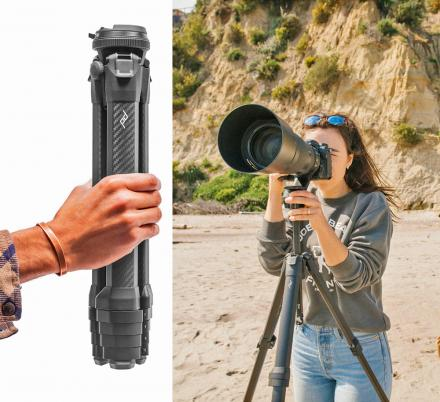 Incredible Travel Tripod Takes Up Half The Space Of Traditional Tripods