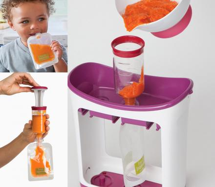 Infantino Squeeze Station Lets You Make Your Own On-The-Go Baby Food