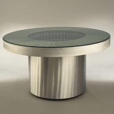 Infinty Mirror Dining Table 1