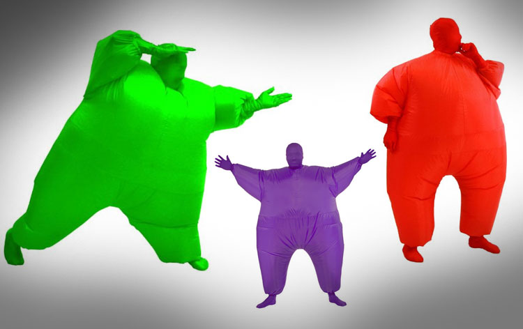 Inflatable Fat Suit Costume