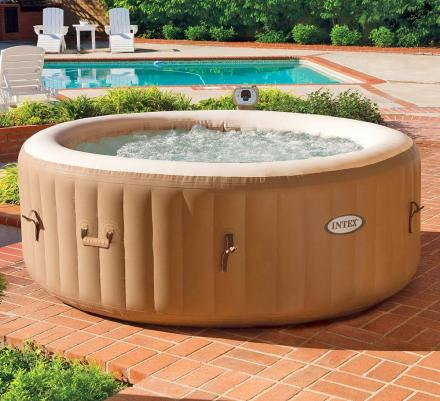 Inflatable Hot Tub Sets Up In Just 20 Minutes
